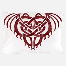 Cthulhu Knot (Red) Pillow Case