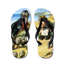 Alice CARPENTER  WALRUS_SQ Flip Flops