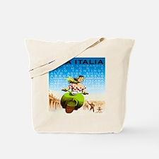 Vintage Viva Italia Poster Tote Bag