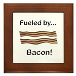 Fueled by Bacon Framed Tile