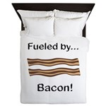 Fueled by Bacon Queen Duvet