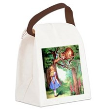 ALICE_12_SQ Canvas Lunch Bag