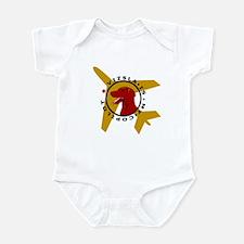 Vizsla Copilot w/plane Infant Bodysuit