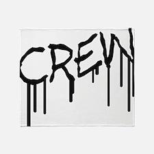 crew_graffiti Throw Blanket