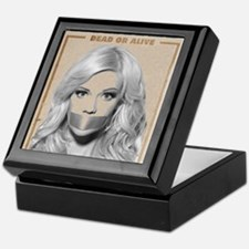 Wanted Dead or Alive - Molly Keepsake Box