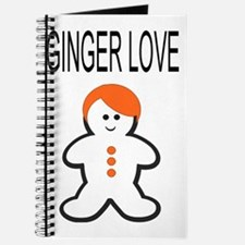 Ginger Love Large Journal
