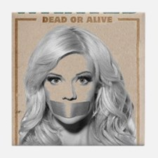 Wanted Dead or Alive - Molly Tile Coaster