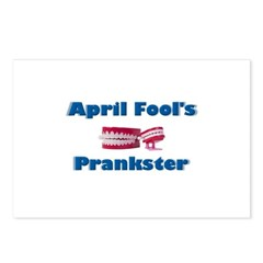 April Fool's Prankster Postcards (Package of 8)