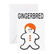 GINGERBRED Greeting Card