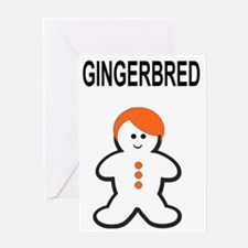 GINGERBRED Greeting Card