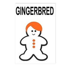 GINGERBRED Postcards (Package of 8)