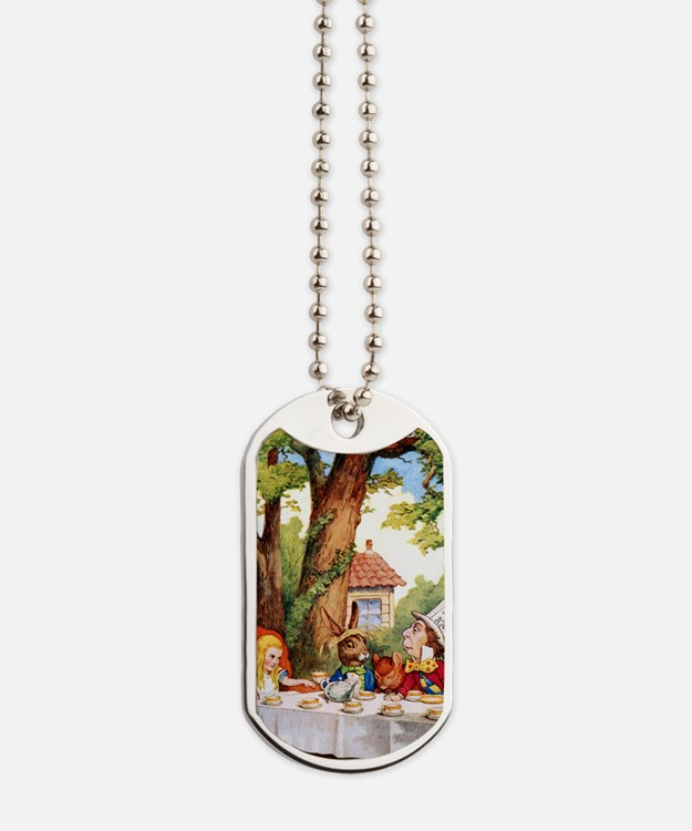 ALICE_MAD HATTER_10x14 Dog Tags
