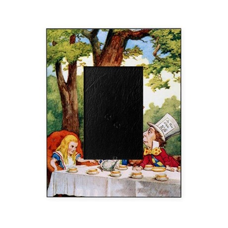 alice mad hatter 10x14 picture frame by admin cp7796332. Black Bedroom Furniture Sets. Home Design Ideas