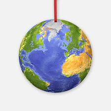 earth Round Ornament