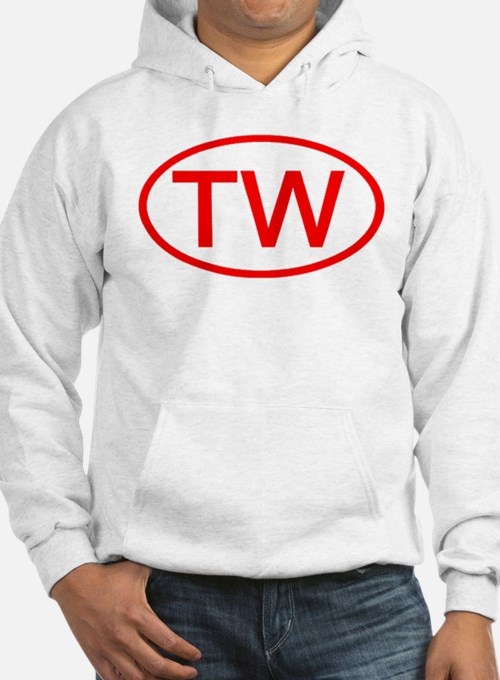TW Oval (Red) Hoodie