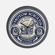 motor-icicle-T Wall Clock