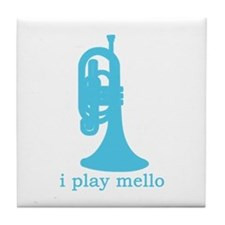 I Play Mello Tile Coaster