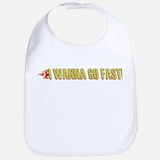 I Wanna Go Fast Bib