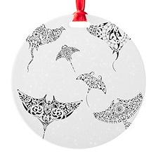 manta rays Ornament