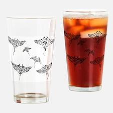 manta rays Drinking Glass