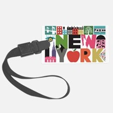 Unique New York - Block by Block Luggage Tag