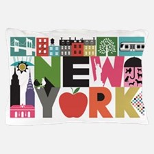 Unique New York - Block by Block Pillow Case