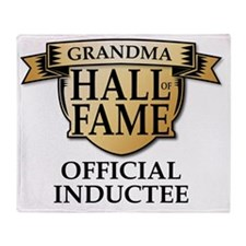 GRANDMA Hall of Fame Inductee Throw Blanket