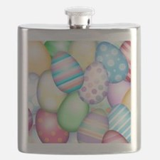 Decorated Eggs Flask