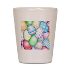 Decorated Eggs Shot Glass
