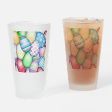 Decorated Eggs Drinking Glass