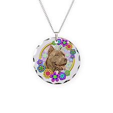 Hippie Pitbull Love Necklace