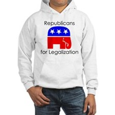 Republicans for Legalization Hoodie