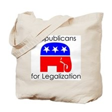 Republicans for Legalization Tote Bag