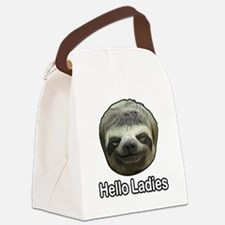 The Sloth Canvas Lunch Bag