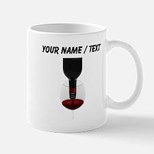 Custom Pouring Red Wine Mugs