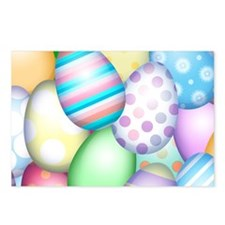 Decorated Eggs Postcards (Package of 8)
