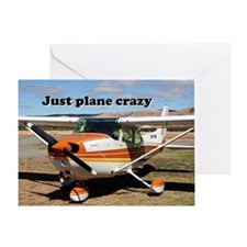 Just plane crazy: Cessna Skyhawk Greeting Card
