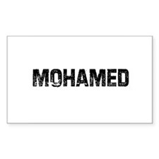 Mohamed Rectangle Decal