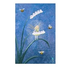StephanieAM Bee Fairy Postcards (Package of 8)