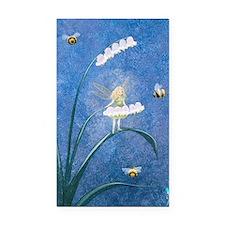 StephanieAM Bee Fairy Rectangle Car Magnet