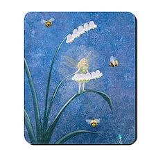 StephanieAM Bee Fairy Mousepad