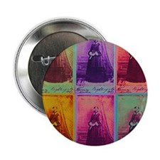 """Florence Nightingale Colors 2.25"""" Button"""