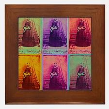 Florence Nightingale Colors Framed Tile