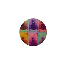 Florence Nightingale Colors Mini Button
