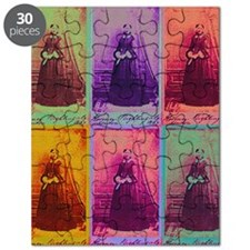 Florence Nightingale Colors Puzzle