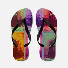 Florence Nightingale Colors Flip Flops