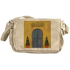 StephanieAM Blue Door Messenger Bag