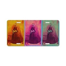 Florence Nightingale Colors Aluminum License Plate