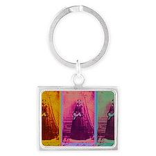 Florence Nightingale Colors 3 Landscape Keychain