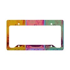Florence Nightingale Colors 3 License Plate Holder